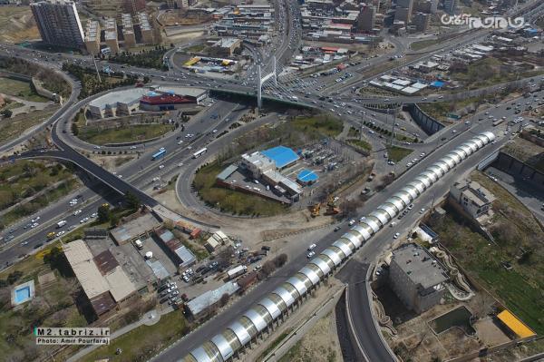 افتتاح پل همسان کابلی تبریز تا چند روز آینده