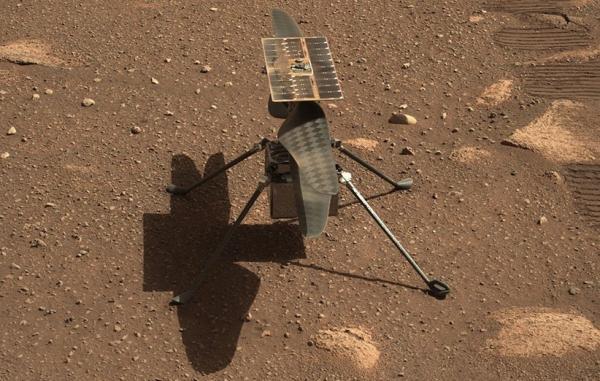بالگرد نبوغ از چالش سرمای شدید شب مریخ به سلامت گذشت